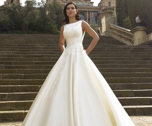 wedding dress, bridal dresses, and formal gowns image