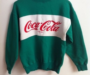 coca cola, coca-cola, and green image