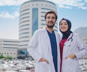 couple, doctor, and forever image