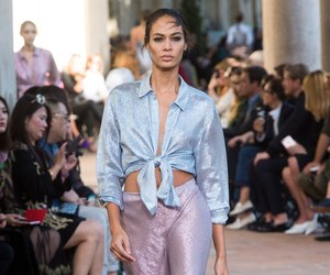 Alberta Ferretti, joan smalls, and fashion image