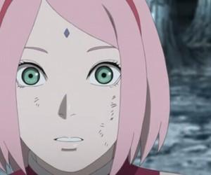 anime, naruto, and sakura haruno image