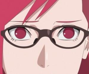 anime, karin uzumaki, and naruto image