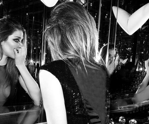 black and white, party, and girl image