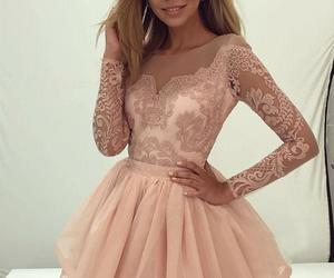 homecoming dresses, lace homecoming dress, and homecoming dress image