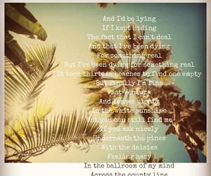 era, palm trees, and summer image