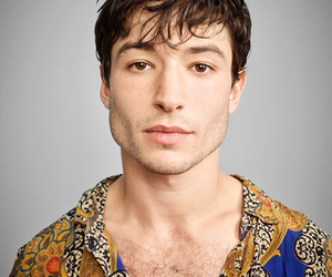 ezra miller, handsome, and Hot image