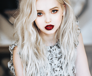 dove cameron, blonde, and makeup image