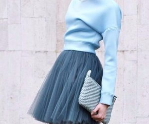 blue, fashion, and girl image