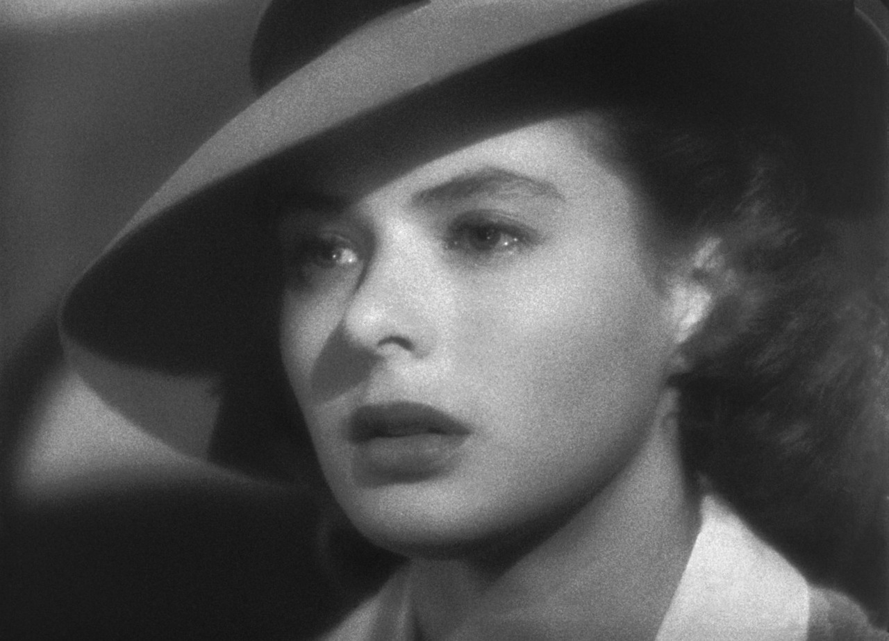Casablanca and ingrid bergman image