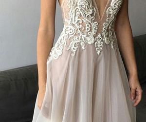dress, Prom, and wedding image