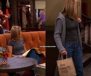 rachel green, style, and outfit image