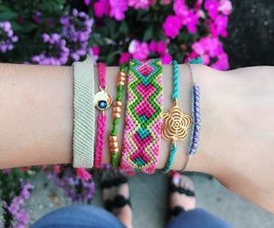 arm candy, autumn, and bracelet image