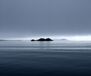 blue, calm, and distant image