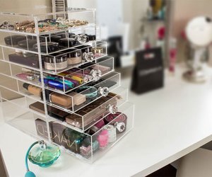 makeup organizer, makeup storage, and labeaute.org image