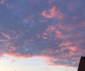 blue, morning, and pink image