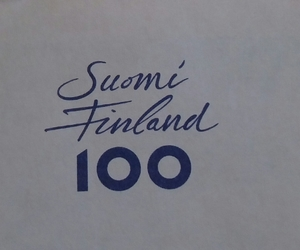 finland, suomi, and suomi 100 image