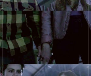 couple, otp, and teen wolf image