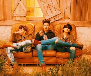 bigbang, daesung, and g-dragon image