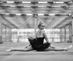 blackandwhite, flexibility, and passion image