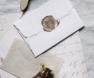 letters, romantic, and vintage image
