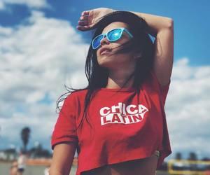 beach, Hot, and sun image