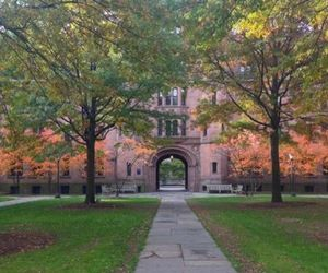 autumn, new england, and yale image