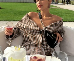 bella hadid, fashion, and model image