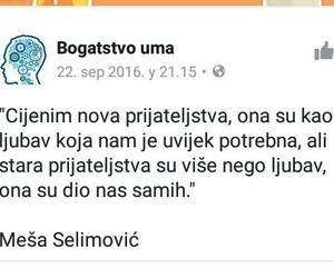 mesa selimovic, citati, and ljubav image