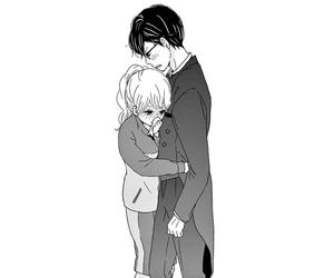 anime, boy, and hug image