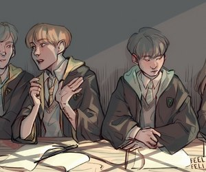 harry potter, kpop, and bts image