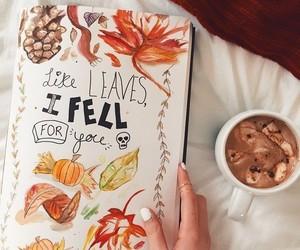 autumn, fall, and art image