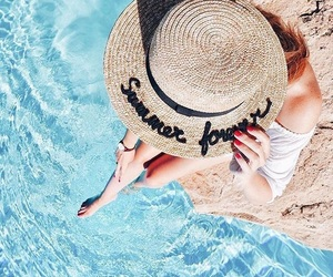 hat, summer forever, and summer image