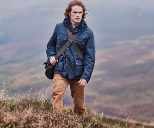 barbour, fashion, and heather image