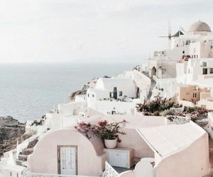 Greece, summer, and santorini image