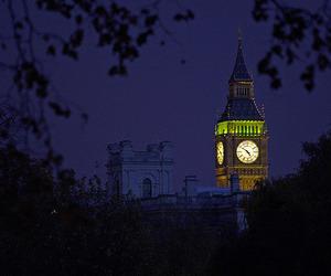 europe, night, and uk image