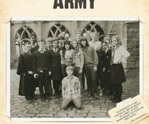 harry potter, hp, and dumbledore's army image