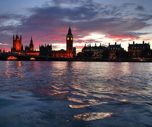 london, Big Ben, and sky image