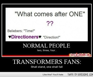 fandom, transformers, and quotes image