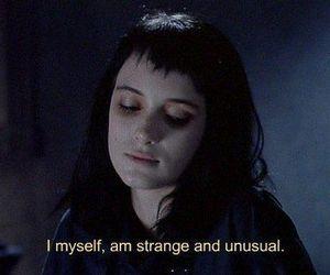 strange, quotes, and unusual image