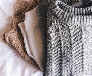 fashion, sweater, and autumn image
