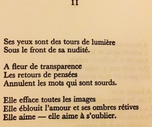 art, poetry, and french poems image