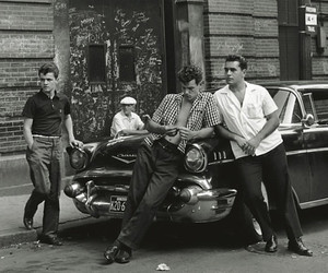 vintage, 50s, and guy image