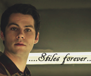 teen wolf, stiles stilinski, and dylan o´brien image