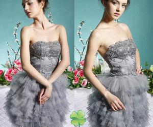 coctail, dress, and lovely image