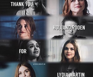 sad, teen wolf, and holland roden image