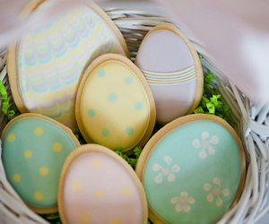 Cookies, egg, and easter image