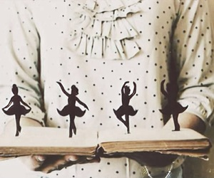 book, ballet, and dance image