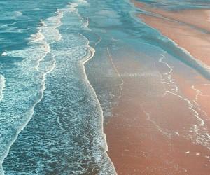 beach, wallpaper, and sea image