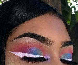 eye makeup, tumblr instagram, and inspo inspiration image