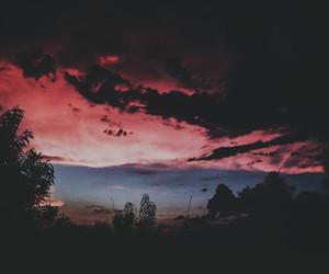 alternative, landscape, and night image